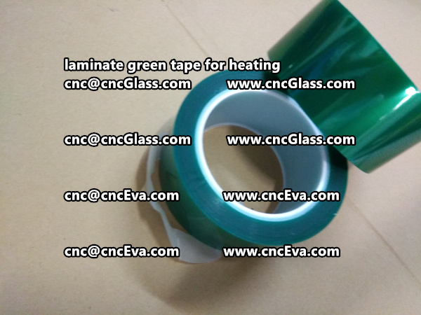 Green Tape 30 and 35mm for laminating (2)