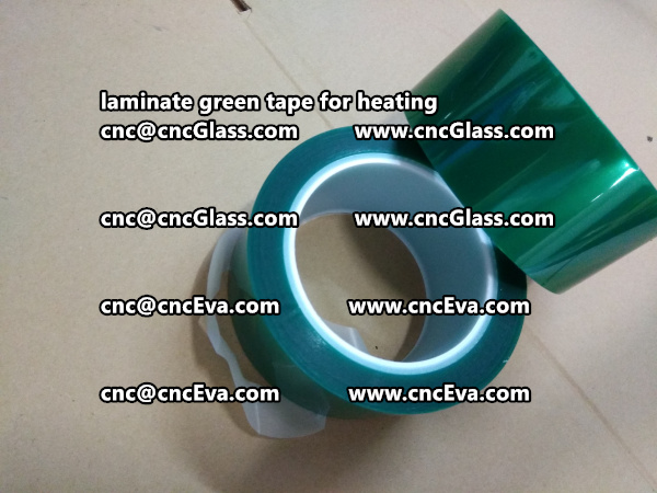 Green Tape 30 and 35mm for laminating (4)