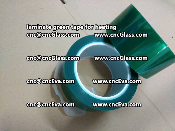 Green Tape 30 and 35mm for laminating (5)